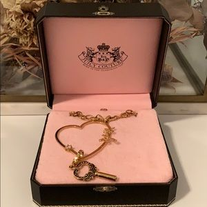 Juicy couture chain necklace